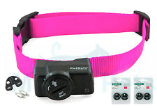 PIF-275 Petsafe Pink Wireless Dog Fence Receiver Collar PIF-300 5 Free Batteries
