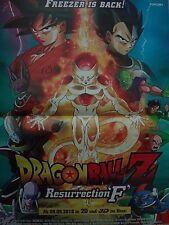 DragonBall Z Resurrection F Poster neu