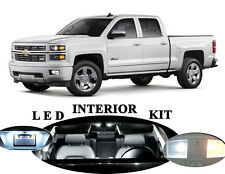 LED Package - Interior + License Plate + Vanity for Chevrolet Silverado (13 Pcs)