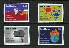 San Marino  2008  #1745-8  Year of Planet Earth  4v. MNH I656