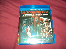 EYES OF THE WEREWOLF & HUNTING SEASON GrindHouse Blu-Ray 3D New & Factory Sealed
