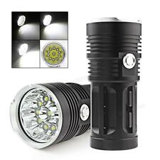 28000LM SKYRAY 11 x CREE XM-L T6 LED Flashlight Torch 4 x 18650 Hunting Lamp