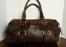 Pre-Owned Francisco Biasia Genuine Bulgarian Leather Shoulder Bag Purse