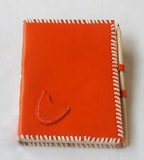 Hand-Crafted Genuine Leather Journal Diary with Pen Loop/Instagram Photo Album