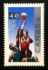 Canada #1343 MNH, Basketball Stamp 1991