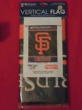 2010 San Francisco Giants World Series 27 x 37 Inch Vertical Flag New Unopened
