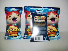 Yo-Kai Watch Trading Card Game Booster Packs Lot of 3 New