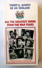 England - Greatest Songs From The War Years ~ New VHS ~ WWII Music Movie Video