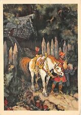 B75304 horse chevaux Russia fairy tales popular story contes de fees