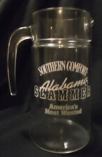 Southern Comfort SO CO Alabama Slammer America's Most Wanted Glass Pitcher