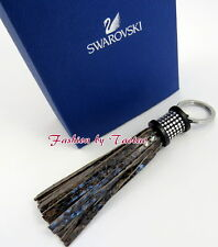 New in Box AUTHENTIC Swarovski # 5039236 Tayla Reptile Brown Key Ring