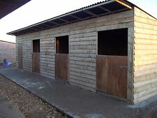 12ft x 30ft double  stable and tack room block for rental only,