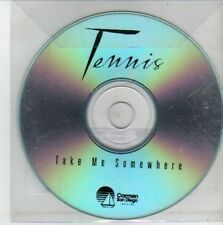 (CH517) Tennis, Take Me Somewhere - DJ CD
