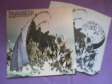 Nazareth - Hair Of The Dog LP 1975 ORIG UK 1st Press A-2U/B-1U Mooncrest