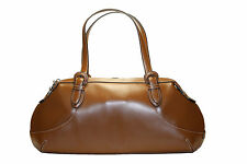 Cole Haan Tan Leather Biltmore Collection Satchel Purse Handbag New with Tags
