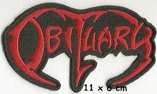 Obituary - patch - FREE SHIPPING