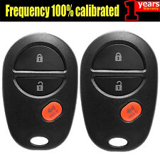 2 New for TOYOTA TACOMA 2005-2015 Keyless Entry Remote Car Key Fob SIENNA TUNDRA