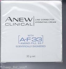 *~AVON~*ANEW CLINICAL A-F33 AF33 LINE CORRECTOR HYDRATING CREAM*NEW*NOW IN A JAR