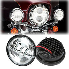 """4.5"""" LED Auxiliary Passing Fog Lights for Harley Electra Glide Police FLHP"""