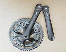 new racing bike Triple Chainset prowheel black road bike Crankset 30 42 52T
