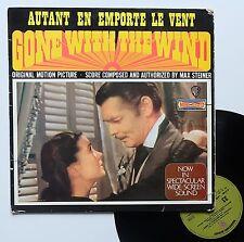 """Vinyle 33T Max Steiner   """"Gone with hte wind - Autant en emporte le vent"""""""