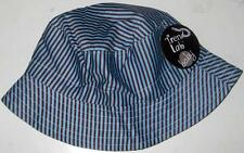 TREND LAB BLUE AND BROWN BABY BUCKET HAT Cap Boys Sun