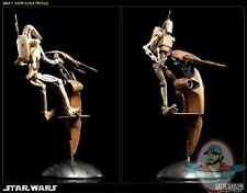 Star Wars S.T.A.P. STAP and Battle Droid Figure Set by Sideshow Collectibles