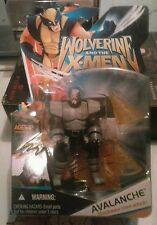 MARVEL WOLVERINE AND THE X-MEN AVALANCHE 4IN ACTION FIGURE NIP 2008 HASBRO
