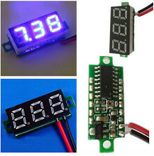 "Mini 2.5V-30V 0.28"" Display LED Digital Voltmeter Voltage Tester Meter Blue BOS"