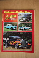 Custom Rodder No. 40 April May 1077 Melbourne Hot Rod Show, Chev, Ford EH Holden