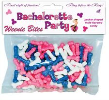 BACHELORETTE PARTY WEENIE BITES - Bride Bridal Shower Favors Decoration