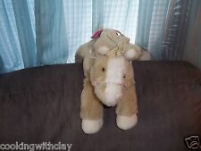 TOYS R US GIRL SOFT CLASSICS HORSE REALISTIC SOUNDS 1995 COMMONWEALTH TOY