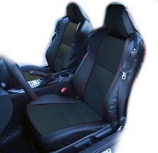 SUBARU BRZ 2013-2014 BLACK IGGEE S.LEATHER CUSTOM FIT FRONT SEAT COVER