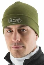 EDZ Merino Wool Thermal Beanie Hat Olive Green