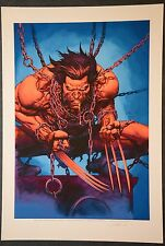 Wolverine Art Print Signed by Laura Martin