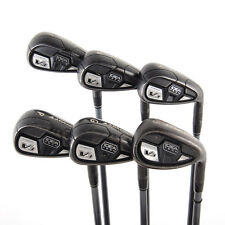 Adams Tech V3 Irons 7-PW,GW,SW Bassara 55 Senior Flex Graphite RH