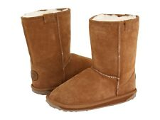 Little Girls Emu Chestnut Low Boots Little Girls/Toddlers Size  10