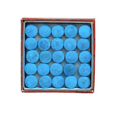 Box Of 50pcs Glue-on Pool Billiards Snooker Cue Tips Stick Accessories 12mm