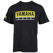 YAMAHA 60TH ANNIVERSAY S/S T-SHIRT - BLACK & YELLOW - SIZE XLARGE - BRAND NEW
