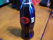 COCA-COLA CINCINNATI REDS LOGO 1995 FULL COLLECTORS 8oz BOTTLE