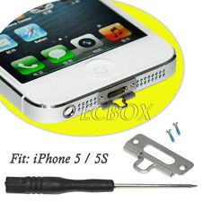 Stainless Steel Metal Tether Netsuke Connection Hook Phone Strap for iPhone 5 5S