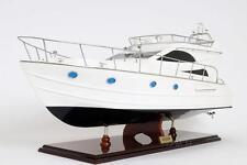 """Viking Sport Cruiser Motor Yacht Wooden Model 36"""" Fully Assembled Power Boat New"""
