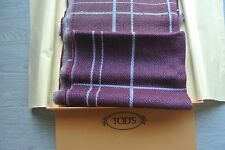 100% Authentic Tod's cashmere & wool Women Scarf