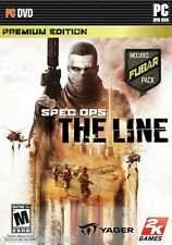 SPEC OPS THE LINE PREMIUM EDITION WITH FUBAR PACK for PC SEALED NEW
