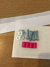 22mm Neon Pink Bonnet Raisers/Spacers Peugeot 106 Quicksilver GTI 306