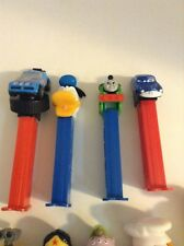 Lot Of 22 Pez Dispensers Wall E Wonder Woman Cars Thomas Garfield Crazy Fruit