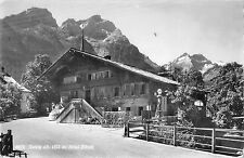 B95975 real photo gsteig hotel baren switzerland