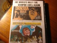 HAMMER DVD SET DRACULA PRINCE OF DARKNESS AND RISEN FROM THE GRAVE. 2 FILM SET!