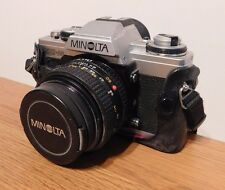 Vintage Minolta XG-M 35mm SLR Camera - With case