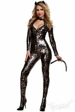 Starline Wild Cat Catsuit Leopard Sexy Womens Costume L 12